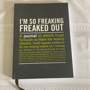 💜3/$20💜 Freak Out Mental health journal wellness